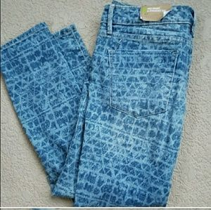 NWT Mossimo mid raise straight leg jeans size 4